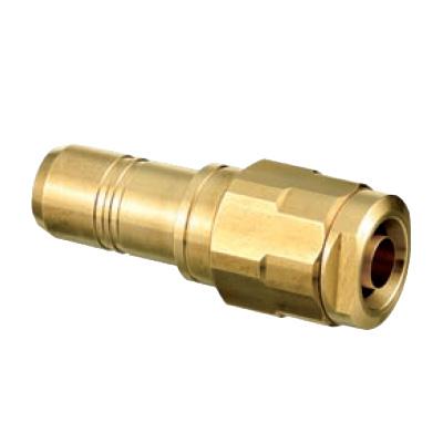 オンダ製作所:ダブルロックジョイント 変換アダプター 黄銅製 型式:HJ24-1310-S(1セット:80個入)