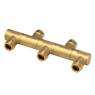 オンダ製作所:回転ヘッダー両端Rc3/4×止 黄銅製 型式:WRH13-1307-S