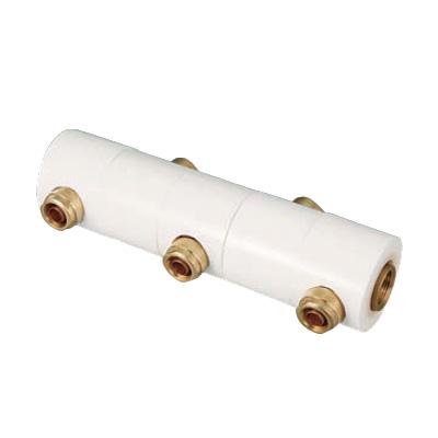 オンダ製作所:回転ヘッダーセット 両端Rc3/4×Rc3/4 黄銅製 型式:WRHS11-1307-S(1セット:6個入)