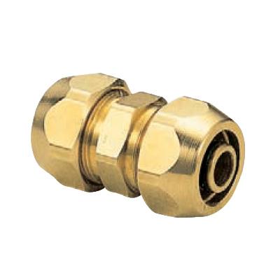 オンダ製作所:ポリ管ジョイント ソケット 黄銅製 (お買い得パック) <SR> 型式:SR-940(1セット:40個入)