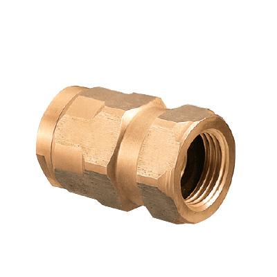 オンダ製作所:ダブルロックジョイント アダプター 青銅製 型式:WJ7C-2020C-S(1セット:8個入)