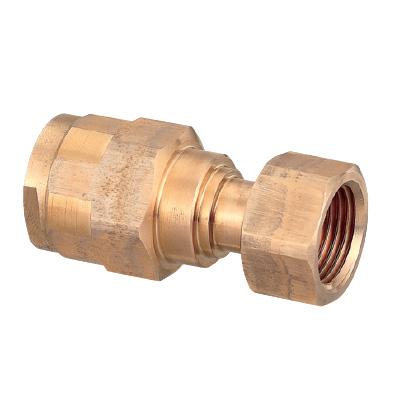 オンダ製作所:ダブルロックジョイント ナット付アダプター 青銅製 型式:WJ18C-2520C-S(1セット:10個入)