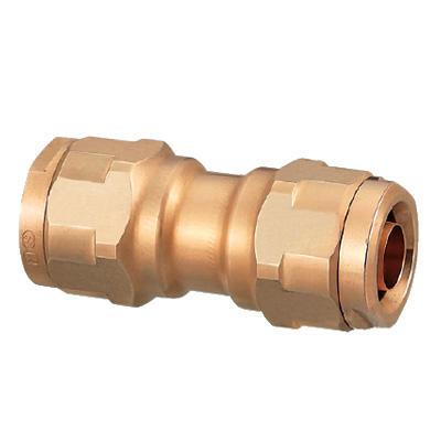 オンダ製作所:ダブルロックジョイント 異径ソケット 青銅製 型式:WJ3A-1610C-S(1セット:40個入)