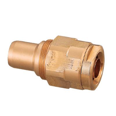 オンダ製作所:ダブルロックジョイント 青銅製 再施工用 型式:WJ4A-2020C-S(1セット:5個入)