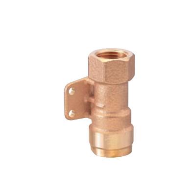 オンダ製作所:ダブルロックジョイント 床下横取付けアダプター 青銅製 型式:WJ30-1313C-S(1セット:10個入)