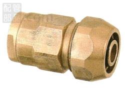 オンダ製作所:ダブルロックジョイント ポリ管変換アダプター 青銅製 型式:WJ31A-2016C-S(1セット:40個入)