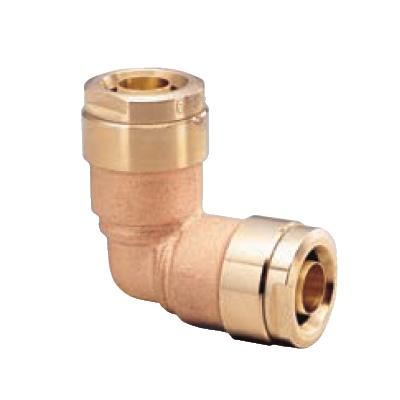 オンダ製作所:ダブルロックジョイント 同径エルボソケット 青銅製 型式:WL3A-20C-S(1セット:4個入)