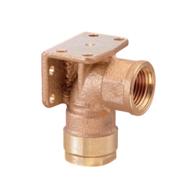 オンダ製作所:ダブルロックジョイント 両座水栓エルボ 青銅製 お買い得パック 型式:WL33-1313C-S(1セット:80個入)