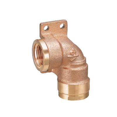 オンダ製作所:ダブルロックジョイント 左座水栓エルボ 青銅製 型式:WL14-1310C-S(1セット:40個入)