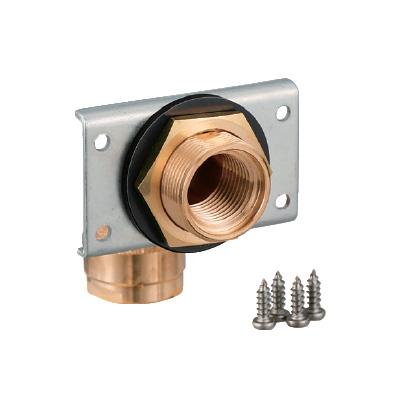 オンダ製作所:ダブルロックジョイント UB壁貫通金具 シングル 青銅製 型式:WL11-1313C-S-1P(1セット:48個入)