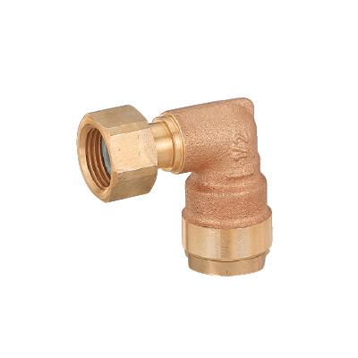 オンダ製作所:ダブルロックジョイント エルボアダプター 青銅製 型式:WL12C-2016C-S(1セット:40個入)