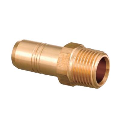 オンダ製作所:ダブルロックジョイント テーパおねじ(管端コア対応) 青銅製 型式:HJ44C-1620C-S(1セット:10個入)