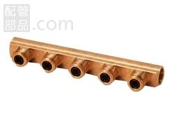 オンダ製作所:ダブルロックジョイントP ダブルロックヘッダー 青銅製 型式:WH-2007-13-S(1セット:6個入)