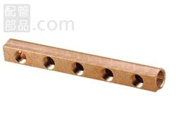 オンダ製作所:ヘッダー 青銅製 <SRH> 型式:SRH-2507-S(1セット:2個入)