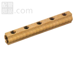 オンダ製作所:ヘッダー 青銅製 (お買い得パック) 型式:KH-2509(1セット:2個入)