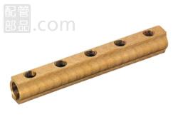オンダ製作所:ヘッダー 青銅製 (お買い得パック) 型式:KH-2510(1セット:2個入)