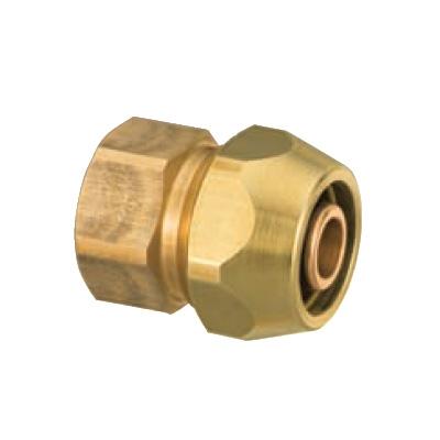 オンダ製作所:ポリ管ジョイント 内ねじ 青銅製 (お買い得パック) 型式:SR-815(1セット:80個入)
