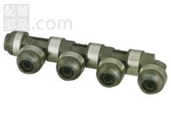 オンダ製作所:ダブルロックジョイントP 回転へッダー 樹脂製 型式:WH1-AE09(1セット:6個入)