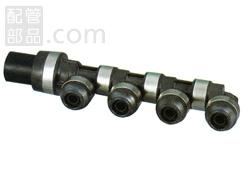 オンダ製作所:ダブルロックジョイントP 回転へッダー 樹脂製 型式:WH1-JE09(1セット:6個入)