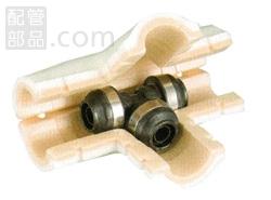 オンダ製作所:ダブルロックジョイントP 保温材セット(同径) 樹脂製 型式:WPTS1A-20-S(1セット:10個入)