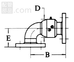 昭和技研工業:パールスイベルジョイント CS型 スタイルNo.2 型式:パールCS-2-100A