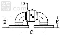 昭和技研工業:パールスイベルジョイント C型 スタイルNo.3 型式:パールC-3-65A