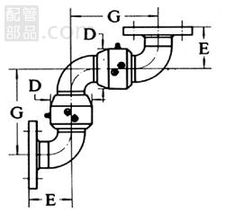 昭和技研工業:パールスイベルジョイント C型 スタイルNo.6 型式:パールC-6-100A