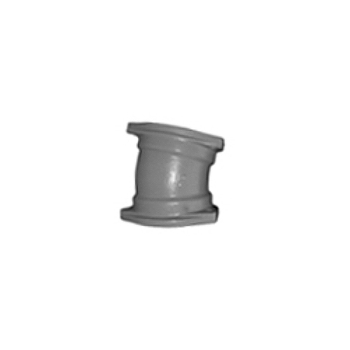 伊藤鉄工(IGS):排水鋼管用可とう継手・MD(フランジ付) 15°エルボ 型式:15°L-125