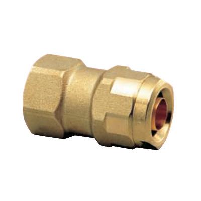 オンダ製作所:ダブルロックジョイント WJ2型 黄銅製 お買得パック 型式:WJ2A-2016-S(1セット:10個入)