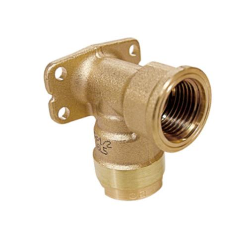 お買得パック 黄銅製 型式:WL5-1313-S (1セット:10個入) WL5型 オンダ製作所:ダブルロックジョイント 座付水栓エルボ