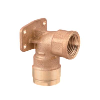 オンダ製作所:ダブルロックジョイント WL5型 座付水栓エルボ 青銅製 お買得パック 型式:WL5A-1316C-S(1セット:10個入)