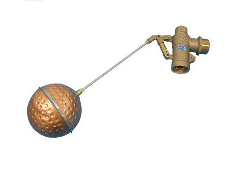 兼工業:圧力バランス型複式ボールタップ <FW(銅玉付)> 型式:FW(銅玉)-75