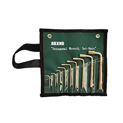 バックスノ:六角棒レンチセット 型式:RBHX-9S