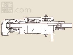 昭和技研工業:パールロータリージョイント ACWタイプ 型式:ACW-1 25A-10A LH