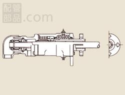 昭和技研工業:パールロータリージョイント ACFWタイプ 型式:ACFW-1 40A-20A