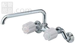 SANEI(旧:三栄水栓製作所):ツーバルブ混合栓 型式:K231-LH-13