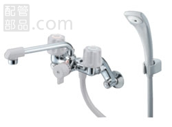 SANEI(旧:三栄水栓製作所):ツーバルブシャワ混合栓(一時止水) 型式:SK2104DK-LH-13