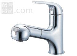 SANEI(旧:三栄水栓製作所):シングルスプレー混合栓(洗髪用) 型式:K3703JV-13