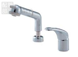 【楽ギフ_包装】 SANEI(旧:三栄水栓製作所):シングルスプレー混合栓(洗髪用) 型式:K3761JK-C-13, ボードショップ BREAKOUT 2169a9f1