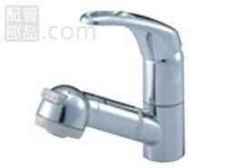 SANEI(旧:三栄水栓製作所):シングルスプレー混合栓(洗髪用) 型式:K3763JK-C-13