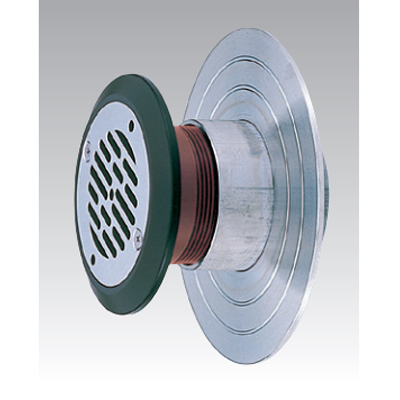 アウス:防水皿付側面循環金具 型式:DL-UP-Z-65