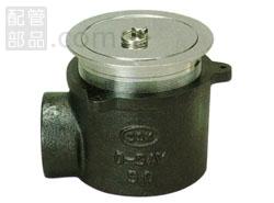 アウス:非防水用床排水トラップ・共栓付・横型 型式:D-5AYT