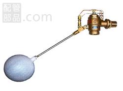 マルホン:MS型ボールタップ 型式:MS-40 (ネジ込み式 ステンレス玉付)