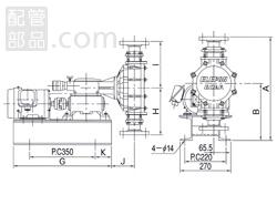 エレポン化工機:直動式ダイヤフラムポンプ シングルヘッドタイプ 型式:CR-10aN