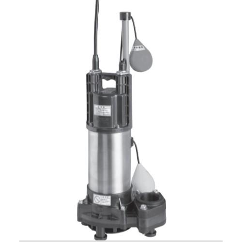 荏原製作所:自動形樹脂製汚水・雑排水用水中ポンプ 型式:50DWSA6.4B