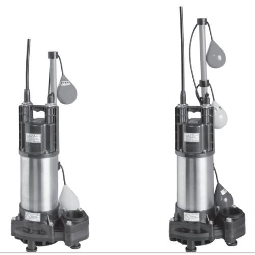 荏原製作所:樹脂製汚水汚物用水中ポンプ 型式:50(40)DWVA6.25SB+50(40)DWVJ6.25SB