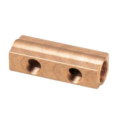 オンダ製作所:ヘッダー 青銅製 型式:KH-2001W(1セット:50個入)