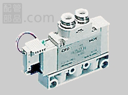 CKD:パイロット式5ポートバルブ 4GAシリーズ <4GA> 型式:4GA410-C10-3