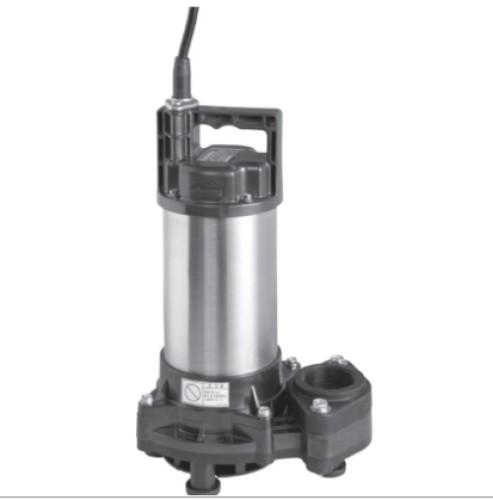 荏原製作所:非自動形樹脂製汚水・雑排水用水中ポンプ 型式:50DWS5.75B