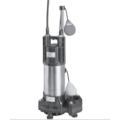 荏原製作所:自動形樹脂製汚水・雑排水用水中ポンプ 型式:50DWSA5.4SB